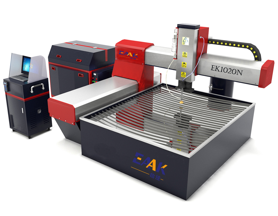 New design small water jet cutter