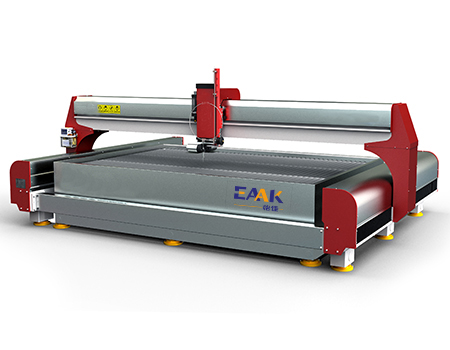 Waterjet metal cutting machine